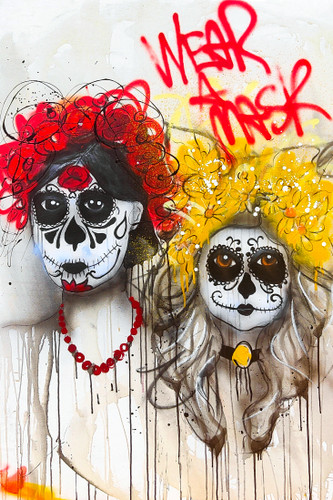 Day of the Dead, Wear a Mask