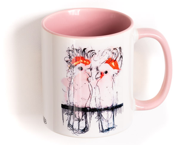 Major Mitchell Cockatoo Mug
