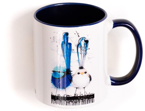 Wren Family Mug