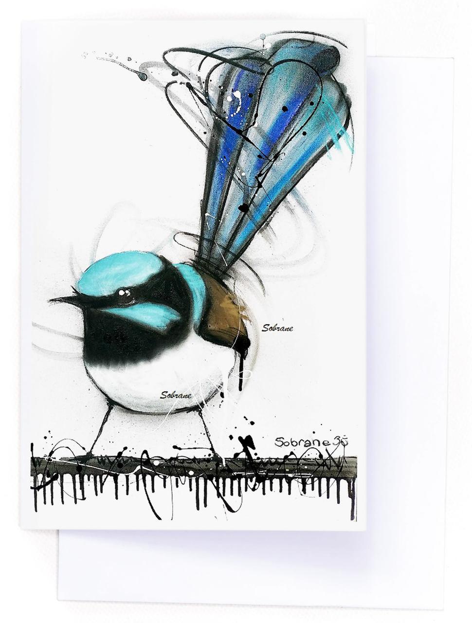 Superb Fairy Wren Card