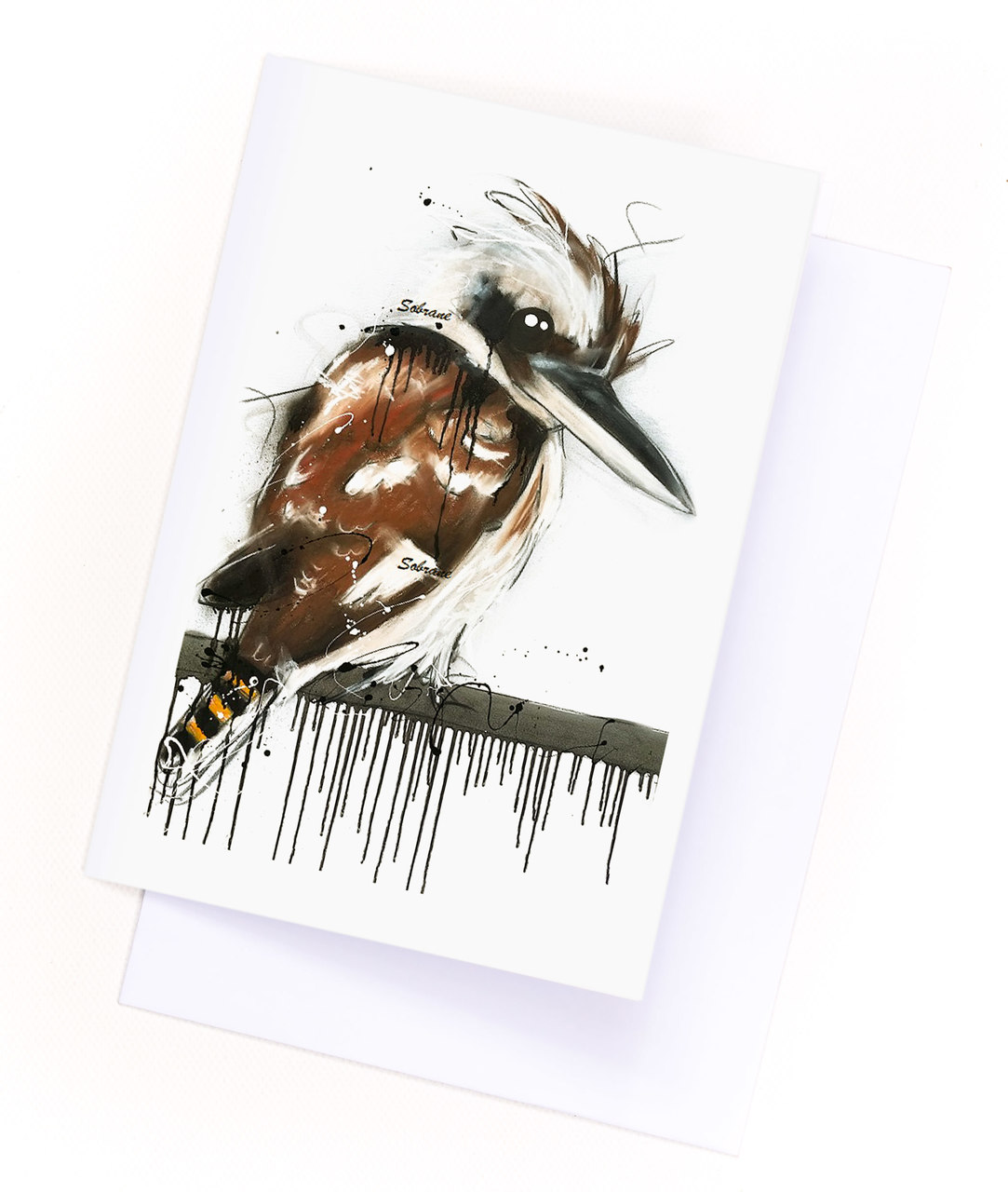 Beautiful card printed on quality artist grade paper. Comes with envelope
