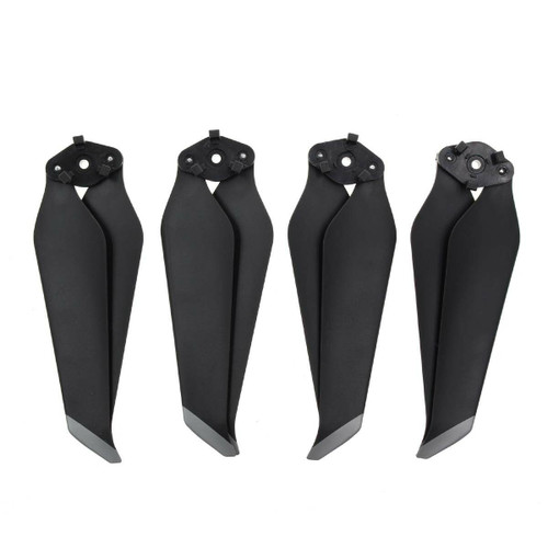DJI Mavic 2 Pro and Zoom Low-Noise Quick-Release Propellers Prop Blade - Silver Tip (4pcs)