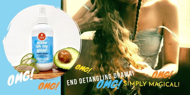Detangling struggles? Oh My Glide to the rescue!