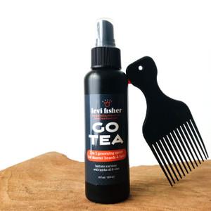Go Tea ~ herbal grooming spray for short hair & beards
