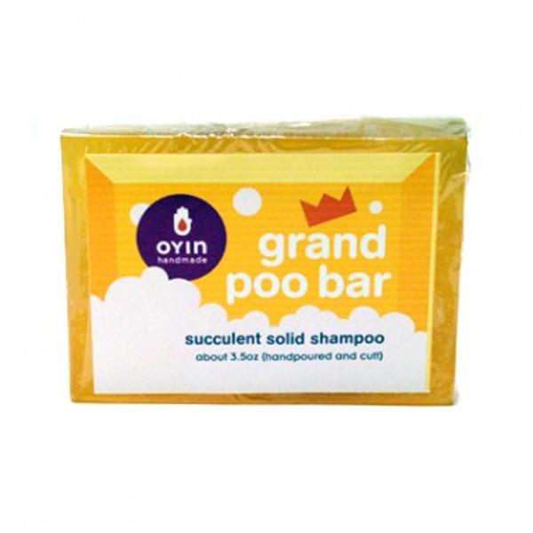 Grand Poo Bar ~ succulent solid shampoo