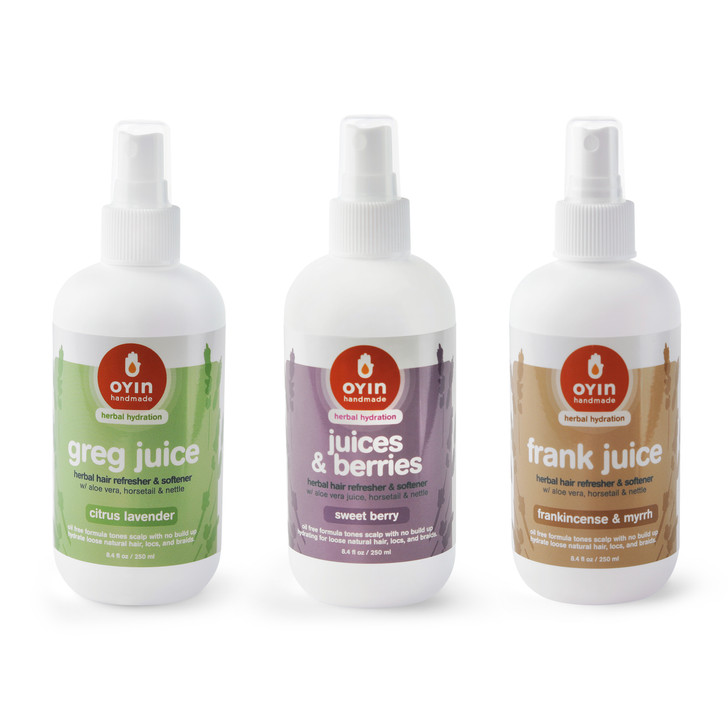 """""""The Juices"""" ~ hydrating herbal leave-ins"""