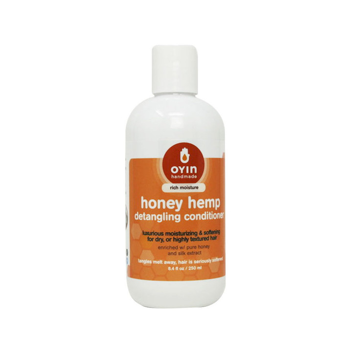 Honey Hemp ~ detangling and moisturizing hair conditioner