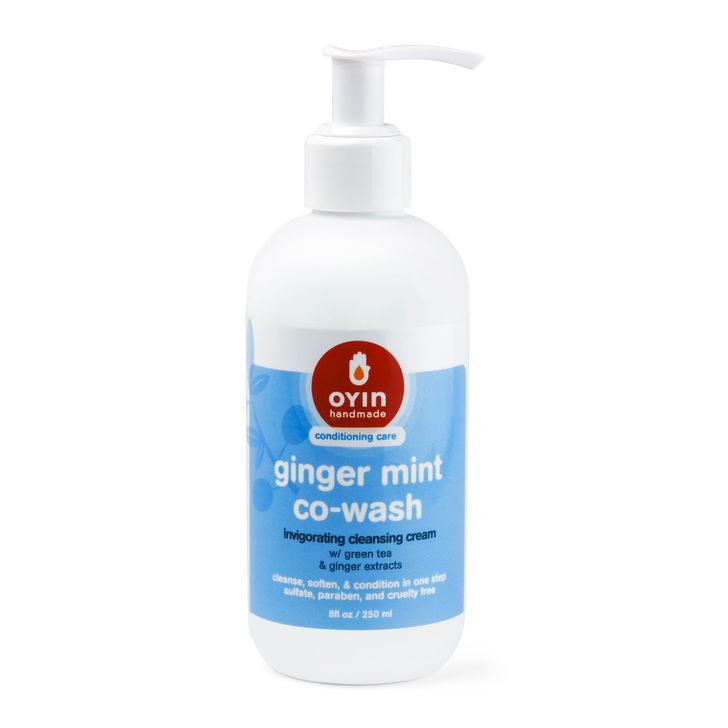 Ginger Mint Co-Wash~ Invigorating cleansing cream