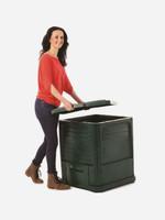 Maze 220 litre Compost Bin in use