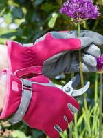 Womens Gardening Gloves by Burgon & Ball - Love the Glove in Berry