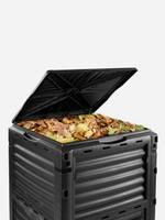 Maze 290ltr Compost Bin in use