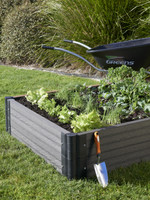 Greens Raised Garden Bed in Charcoal available at Gubba