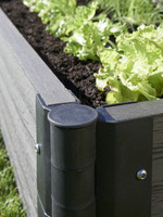 Greens Raised Garden Bed in Charcoal colour