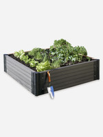 Greens Raised Garden Bed in Charcoal colour - shop online at Gubba