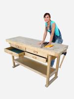 Kitset Workbench Pro solid timber workbench