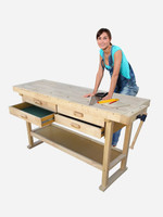 Kitset Workbench Pro solid timber workbench