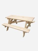 Kids Wooden Kitset Play Table