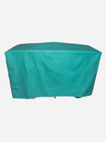 BBQ Cover - Flat Canvas Green