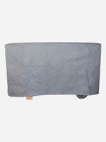 BBQ Cover - Flat Canvas Charcoal Grey