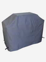 BBQ Cover - Hooded Canvas Charcoal Grey