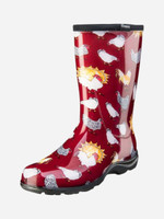 Womens Gumboots - Sloggers Chicken Barn Red