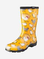 Womens Gumboots - Sloggers Chicken Daffodil Yellow