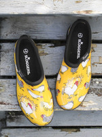 Womens Waterproof Shoes - Sloggers Rain Shoes Chicken Daffodil Yellow