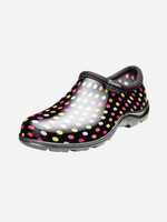 Sloggers Women's Multi Pin Dot Garden Clogs