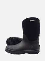 Womens Gumboots - Boonies Lifestyler Mid Black