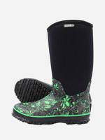 Womens Gumboots - Boonies Lifestyler Tall Butterfly Green
