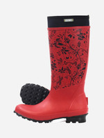 Womens Gumboots Rosie Tall Red