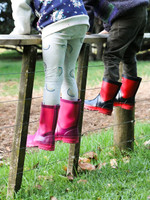 Childrens Pink Gumboot - Skellerup