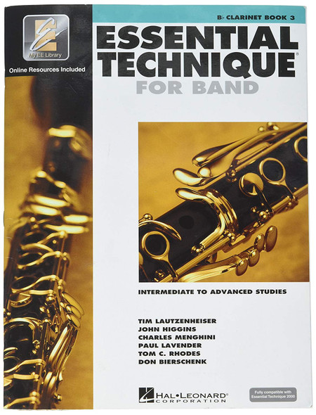 Hal Leonard Essential Technique 2000 for B Flat Clarinet (Book 3 with CD)