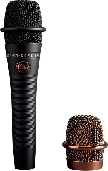 Blue Microphones enCORE 200 Black - Active Dynamic Handheld Microphone