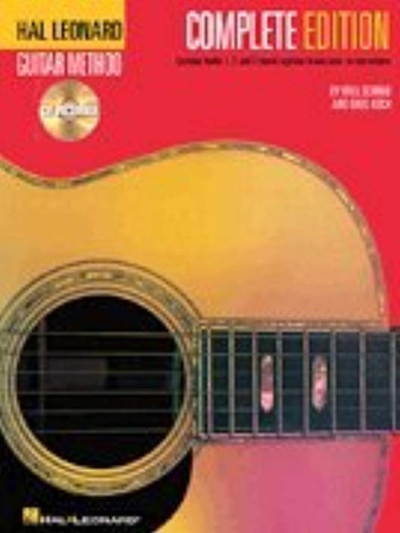 Hal Leonard Guitar Method, Complete Edition: Books and CD's 1, 2 and 3