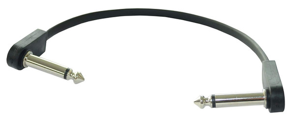 EBS PCF-DL18 Deluxe Flat Patch Cable - 18cm, Angle-Angle