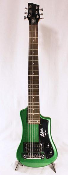 Hofner HCTSHCGO Cadillac Green Travel Electric Guitar