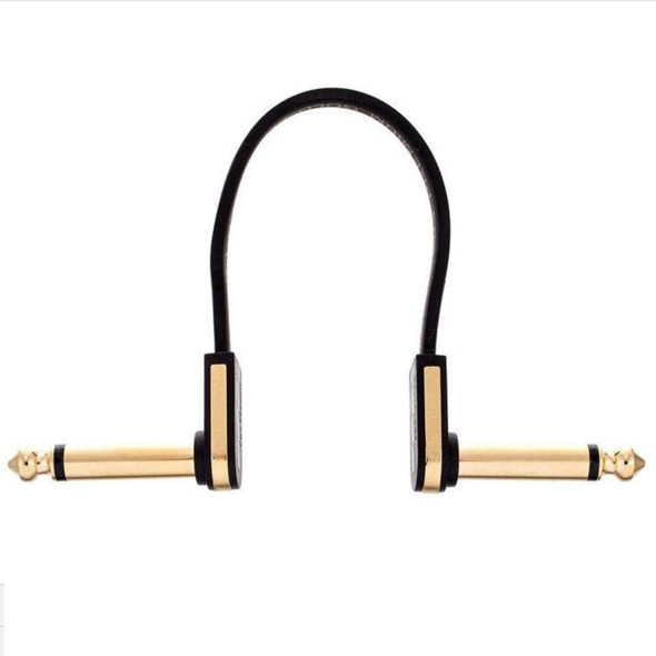 EBS PG-58 Gold Flat Patch Cable - 58cm, Angle-Angle