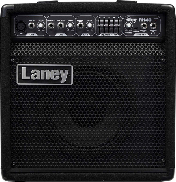 Laney, 3 Guitar Combo Amplifier, Black (AH40)