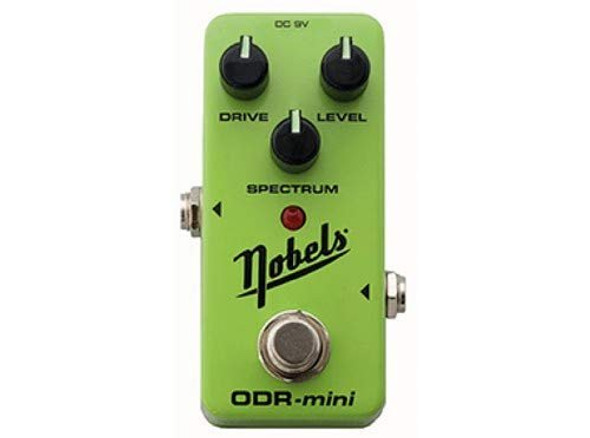 Nobels ODR-Mini Green Overdrive Guitar Effect Pedal