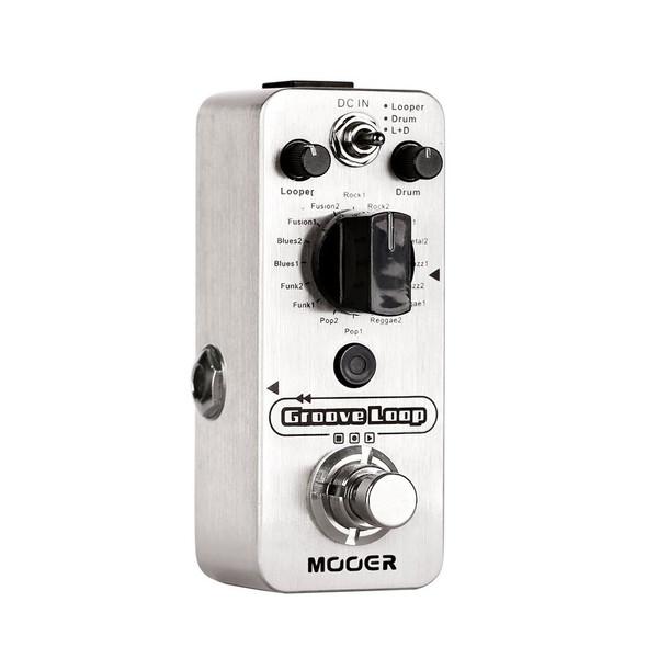 MOOER Groove Loop Drum Machine Looper Pedal