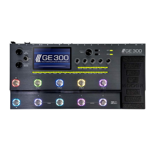 MOOER GE300 Multi Effects Processor