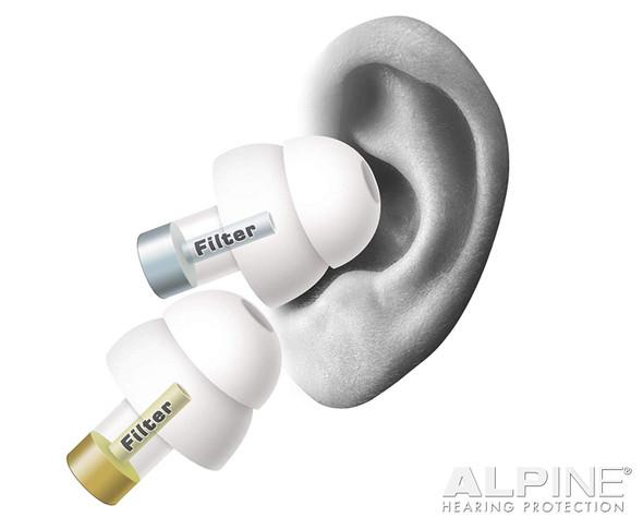 Alpine MusicSafe PartyPlug Ear Plugs Music