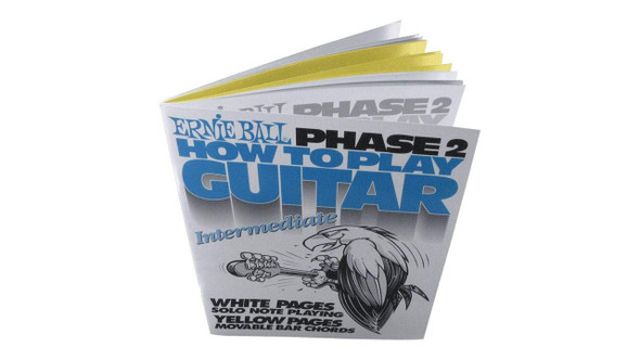 Ernie Ball How To Play Guitar Phase 2 Book
