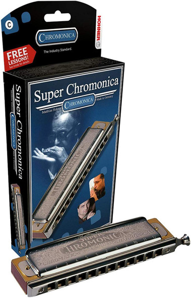 Hohner Harmonica - Super Chromonica 270 - Key Of A