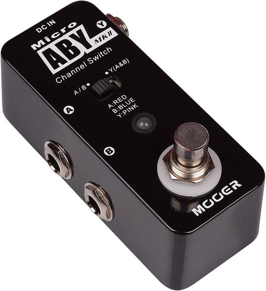 MOOER Micro ABY MKII Channel Switch Pedal