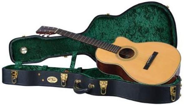 Recording King CG-044K-O Vintage Hardshell Case, 0-Style Acoustic