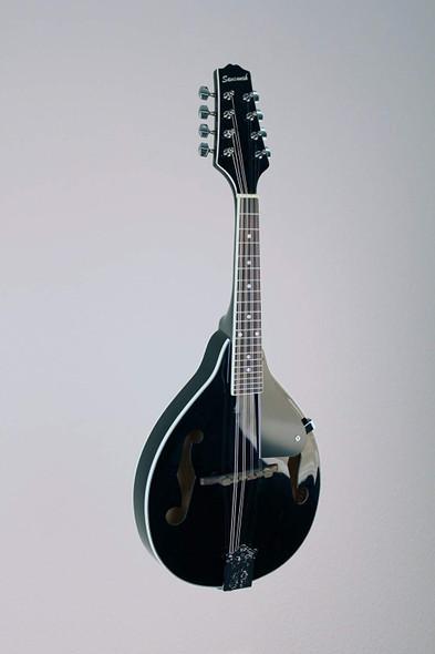 Savannah SA-100-BK A-Model Mandolin, Black