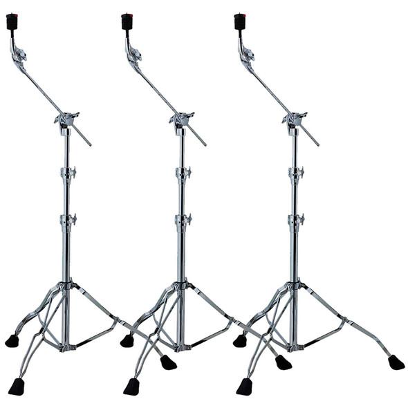 Tama HC83BW Roadpro Straight/Boom Cymbal Stand 3 Pack Bundle