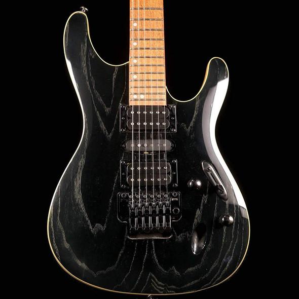Ibanez S570AH - Silver Wave Black